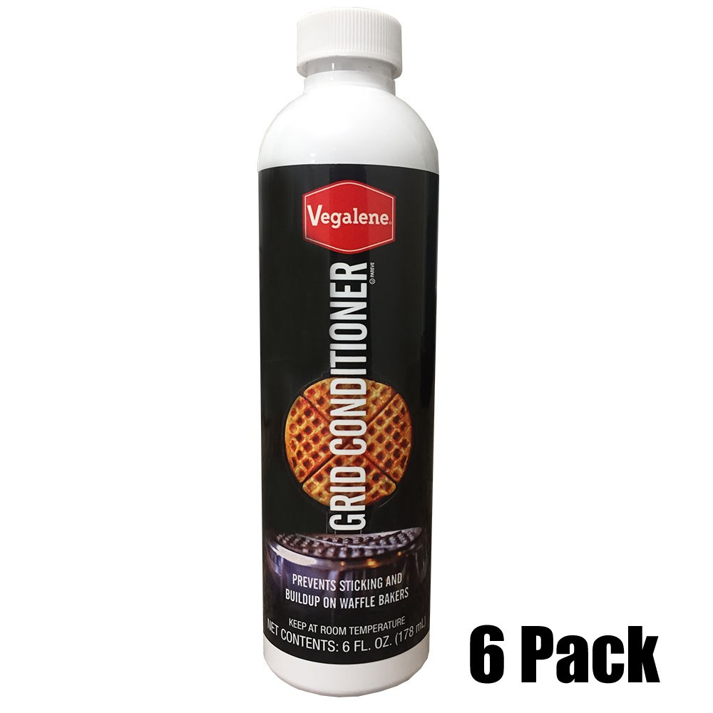 Grid conditioner for waffle iron - 6 oz. bottle. (6 Pack Case)