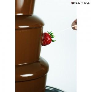 Sagra Signature Dark Chocolate Fondue - 17.5 lbs.