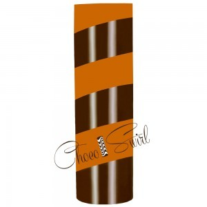 ChocoSwirl Cylinder - Pumpkin Spice and Dark
